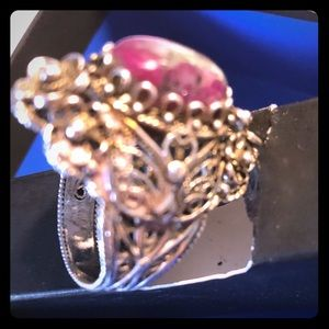 sterling silver statement ring sz 10